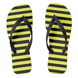 Honig-Schwarzes Flip Flops