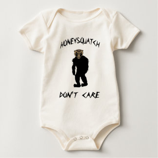 Honig Squatch interessiert sich nicht Baby Strampler