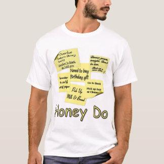 Honig tut - Post-Itanmerkungen T-Shirt