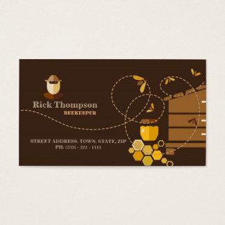 Honig-Verkäufer-/Imker-Visitenkarte Visitenkarte