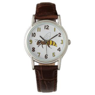 Honigbienen-Uhr (Erwachsener) Armbanduhr