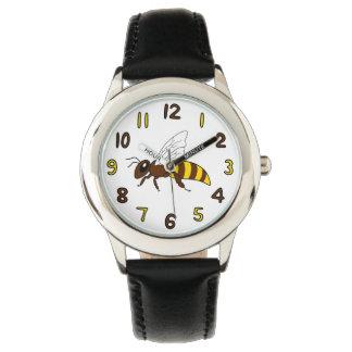 Honigbienen-Uhr (Kind) Armbanduhr