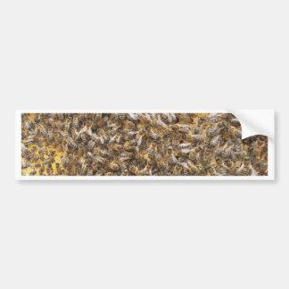 Honigbienen und mehr Honigbienen Autoaufkleber