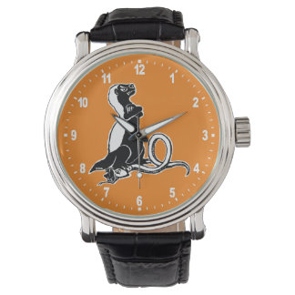 Honigdachs Armbanduhr