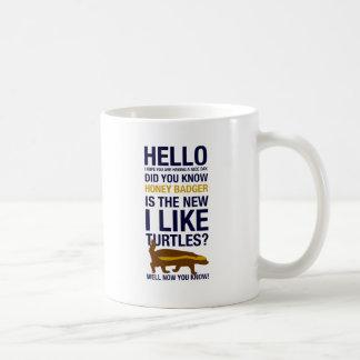 Honigdachs Kaffeetasse