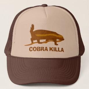 Honigdachs-Kobra killa Truckerkappe