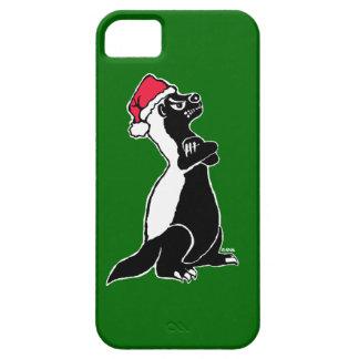 Honigdachs Weihnachten iPhone 5 Hülle