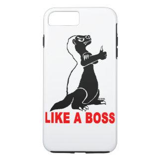 Honigdachs, wie ein Chef iPhone 8 Plus/7 Plus Hülle