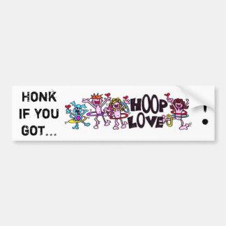 Honk, wenn Sie erhielten… BAND-LIEBE! Autoaufkleber