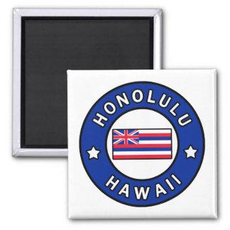 Honolulu Hawaii Quadratischer Magnet