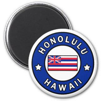 Honolulu Hawaii Runder Magnet 5,1 Cm