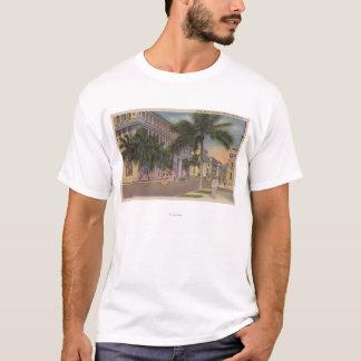 Honolulu, HIView des Bischofs St.Honolulu, HI T-Shirt