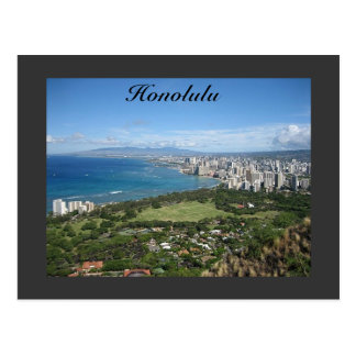 Honolulu Postkarte