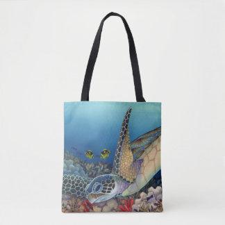 Honu (grüne Meeresschildkröte) Tasche