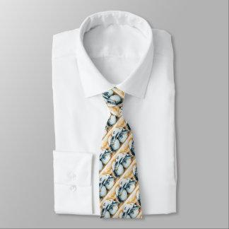 Honu Hatchlings-Eier (grüne Meeresschildkröte) Bedruckte Krawatten