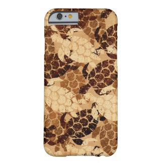 Honu Seeschildkröte-Hawaiianer-Aloha Imitat Koa Barely There iPhone 6 Hülle
