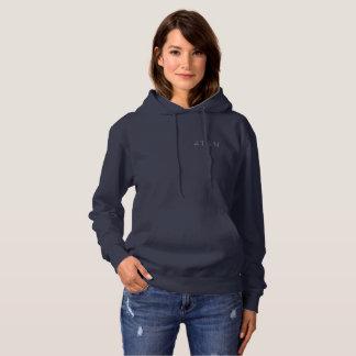Hoodie der Frauen 4TEN dunkle Farbpullover