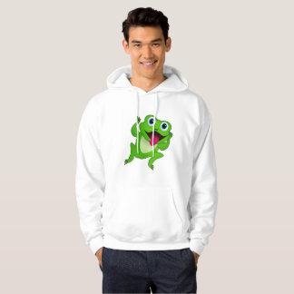 Hoodie der Männer der Frosch