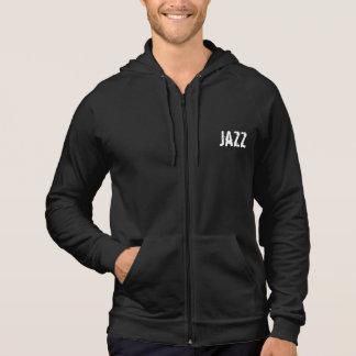 Hoodie der Männer der Jazz(städtisch) durch