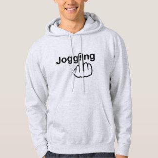 Hoodie-Joggen drehen um Hoodie