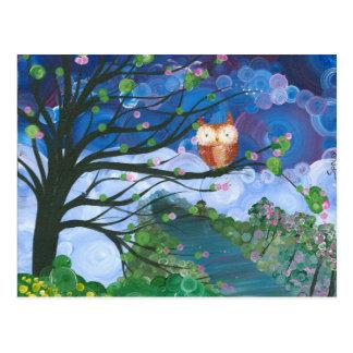 Hoolandia (c) 2013 - Eulen-Jahreszeiten Postkarten