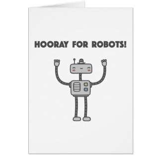 Hooray für Roboter! Karte