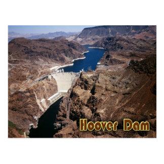 Hooverdamm - Luftaufnahme Postkarte