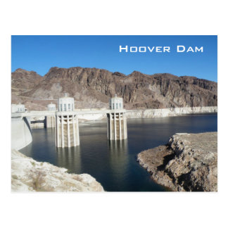 Hooverdamm Postkarte