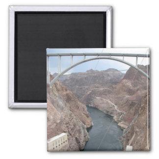 Hooverdamms-Brücke Quadratischer Magnet