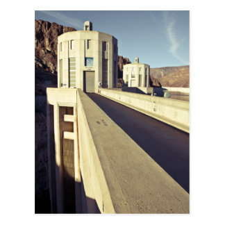 Hooverdamms-Einlass-Türme Postkarte