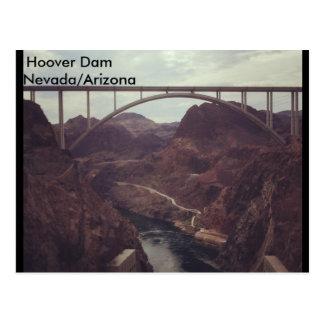 Hooverdamms-Postkarte Postkarte