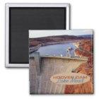 Hooverdamms-Reise-Andenken-Kühlschrankmagnet Quadratischer Magnet