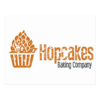 Hopcakes Flaggschiff-Logo Postkarte