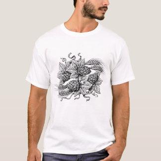 Hopfen u. Gerste (das T-Stück des T-Shirt