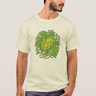 Hopfenentwurf (das T-Stück des T-Shirt