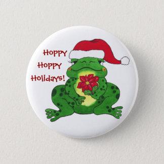 Hopfenreicher Feiertags-Frosch - kundengerechtes Runder Button 5,1 Cm