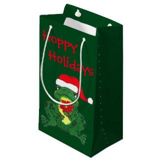 Hopfenreiches Frosch-Weihnachten - Geschenk-Tasche Kleine Geschenktüte