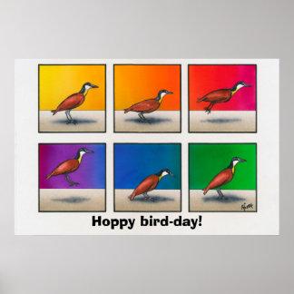 Hopfenreiches Vogel-tägiges! Poster