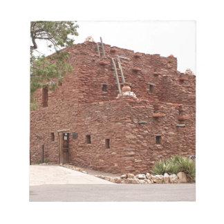 Hopi-Haus, Grand- Canyonsüdkante Notizblock