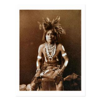 Hopi-Schlangen-Priester CA 1900 Postkarte