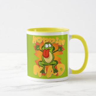 Hoppin wütende Frosch-Tasse Tasse