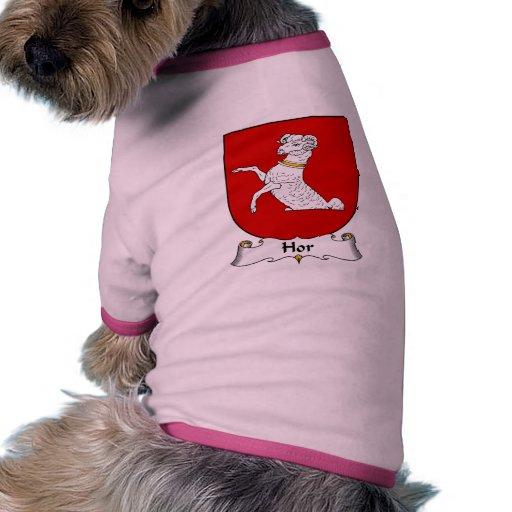 Hor Familienwappen Hunde Shirts