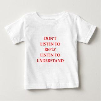 HÖREN Sie Baby T-shirt