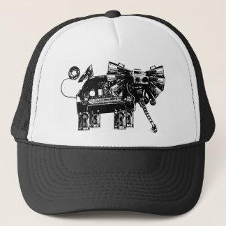 hören Sie die Elefanten Truckerkappe