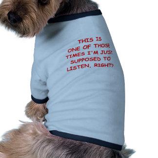 hören Sie Hunde Shirt