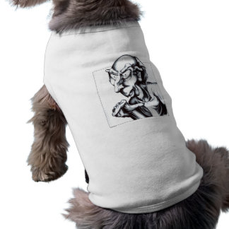 Hören Sie jetzt hier Ärmelfreies Hunde-Shirt