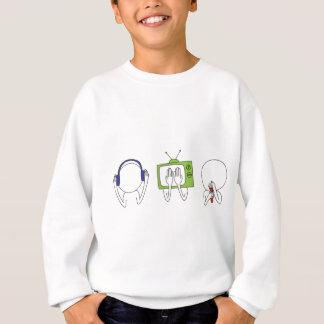 Hören Sie kein zu sehen kein, kein zu sprechen Sweatshirt