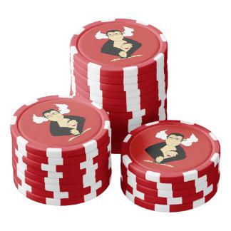 Hören Sie keine Übel-Poker-Chips Poker Chip Set