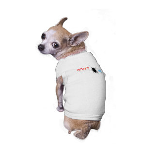 Hören Sie mich nicht ab Ärmelfreies Hunde-Shirt