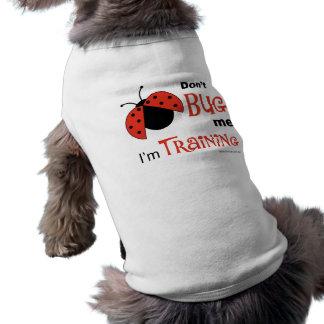 Hören Sie mich nicht Haustiere ab Ärmelfreies Hunde-Shirt